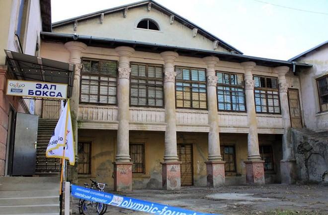 Александр Урбанский - о здании бывшего клуба моряков в Рени